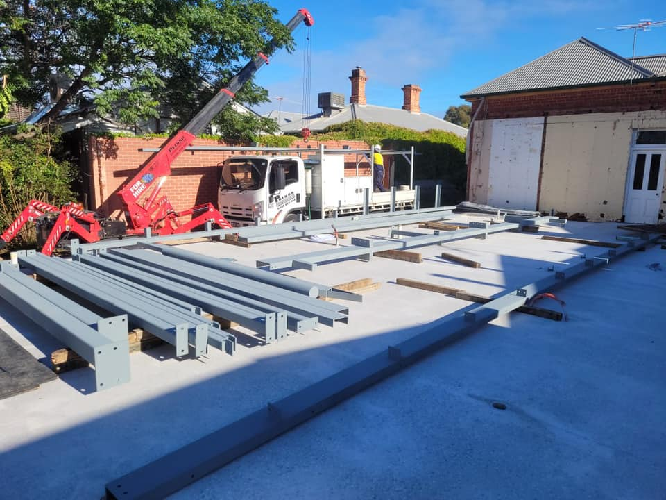 Unley structural Steel